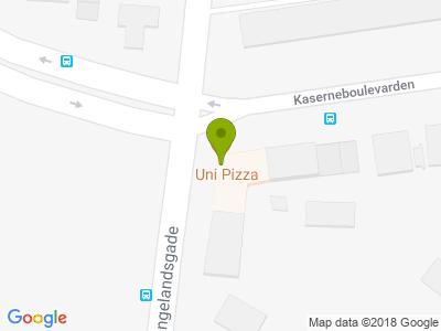 Uni Pizza - Kort
