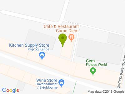 Café & Restaurant Carpe Diem - Kort