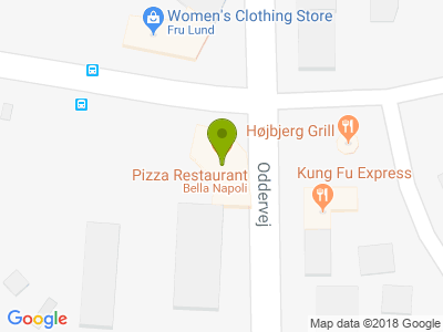 Bella Napoli Pizza - Kort