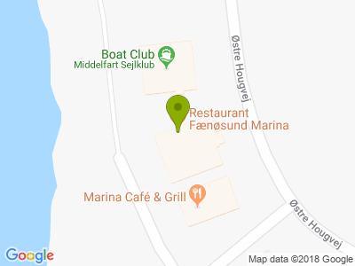 Restaurant Fænøsund Marina - Kort