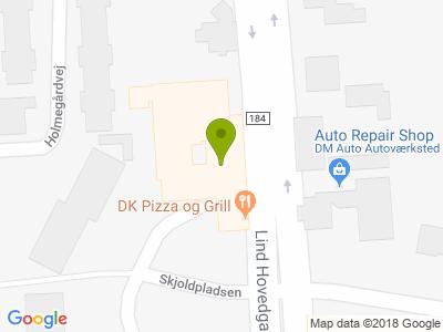 DK Pizza og Grill - Kort
