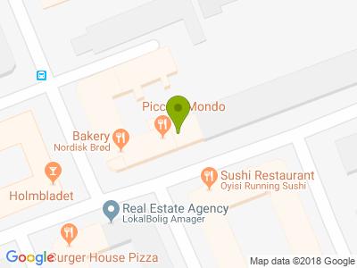 Piccolo Mondo Pizza - Kort
