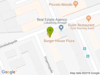 Burger House Pizza - Kort