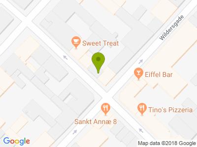 LUNA's Diner Christianshavn - Kort