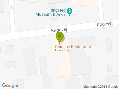 Hua Yang Kinesisk Restaurant - Kort