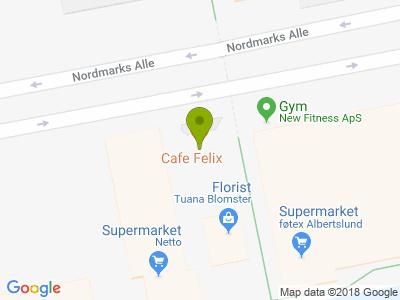 Cafe Felix - Kort