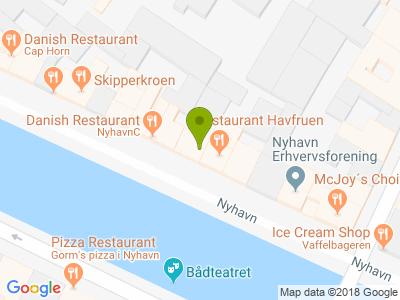 Restaurant Nyhavn 37 - Kort