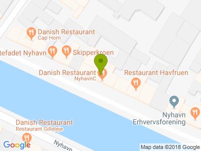 Restaurant NyhavnC - Kort