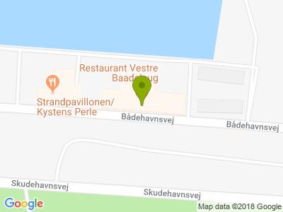 Restaurant Vestre Baadelaug - Kort