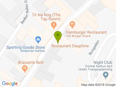 Restaurant Dauphine - Kort