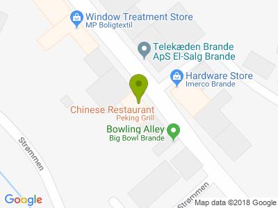 Restaurant Peking - Kort