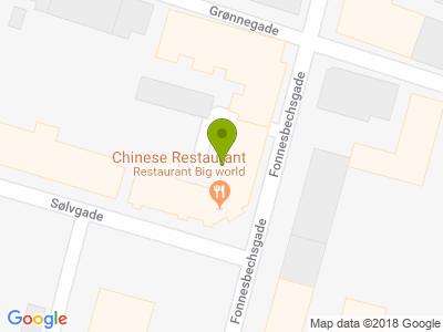 Restaurant Jin Kinesisk restaurant - Kort