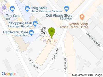 Cafe Vivaldi - Kort