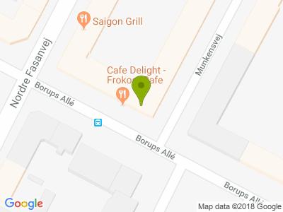 Cafe Delight - Kort