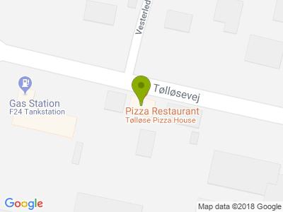 Tølløse Pizza House - Kort