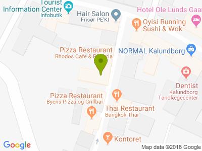 Rhodos Pizzeria & Kebabhus - Kort
