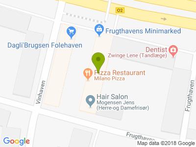 Milano Pizza - Kort