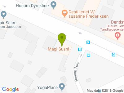 Restaurant Magi Sushi - Kort