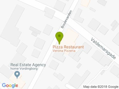 Verona Pizzeria - Kort