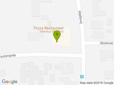 Idestrup Pizza - Kort
