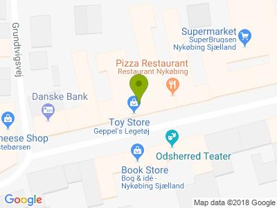 Restaurant Nykøbing - - Kort