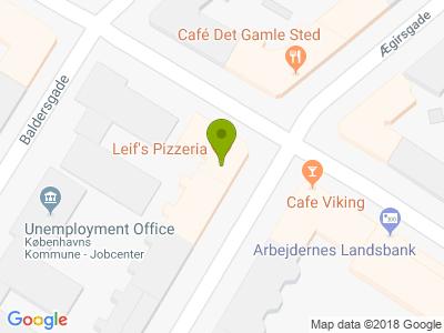 Leif's Pizzeria - Kort