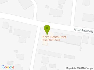 Paparazzi Pizza - Kort