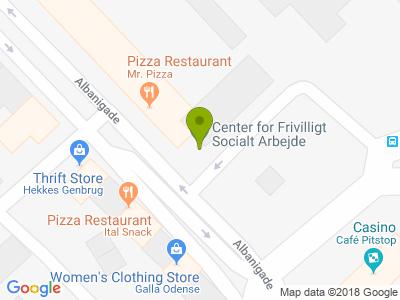 Mr. Pizza Odense - Kort