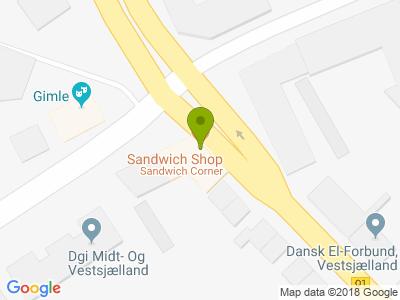 Sandwich Corner - Kort