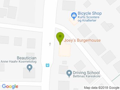 Joey´s Burgerhouse - Kort