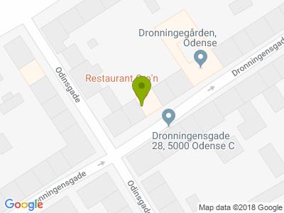 Restaurant Cro´n - Kort