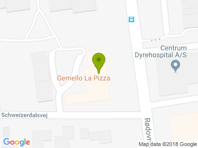 Gemello La Pizza - Kort