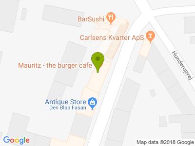 Cafe Mauritz - The Burger Cafe - Kort
