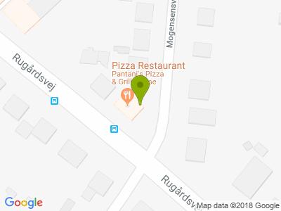 Pantani's Pizza & Grill-House - Kort