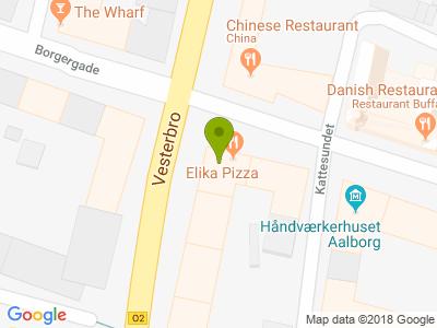 Elika Pizza - Kort