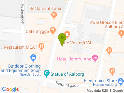 Cafe Vesterå V4 - Kort