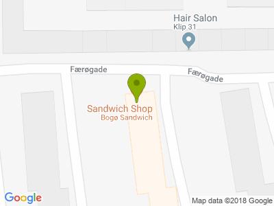 Bogø Sandwich - Kort