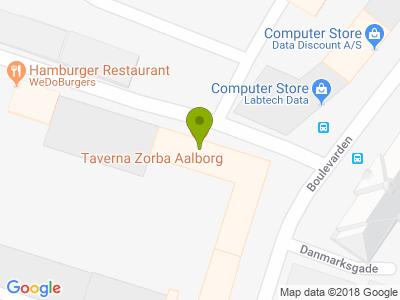 Taverna Zorba - Kort