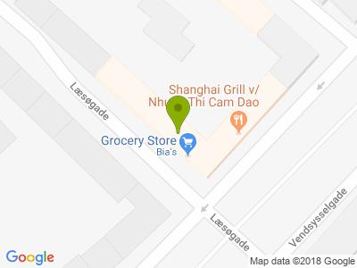 Shanghai Grill - Kort
