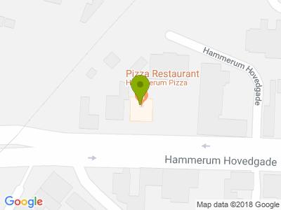 Hammerum Pizza & Grill - Kort