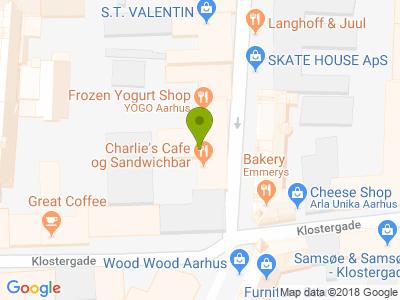 Charlies Café og Sandwichbar - Kort
