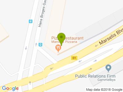 Marselis Pizzeria - Kort