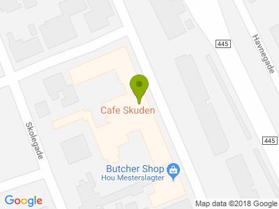 Cafe Skuden - Kort