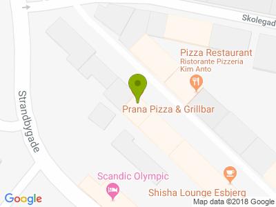 Prana Restaurant - Kort