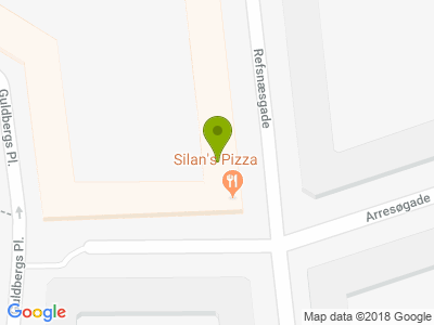 Silan's Pizza & Grill - Kort