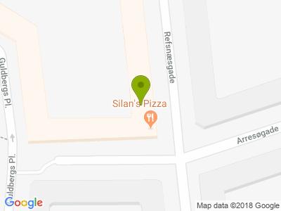 Silan's Pizza & Grill - Kort