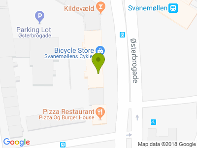 Durum Bar v/Svanemøllen st.  - Kort