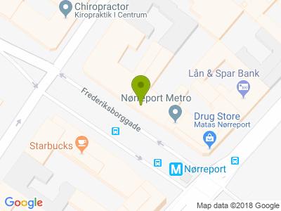Neighbourhood pizza frederiksborggade - Kort
