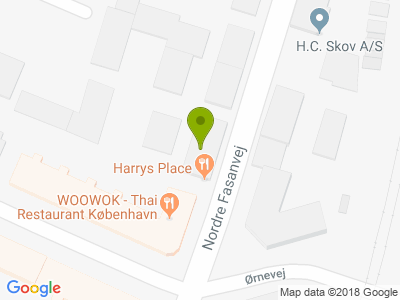 Harrys Place - Kort