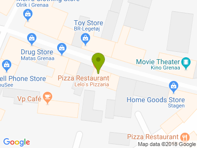 Lelo's Pizzaria - Kort